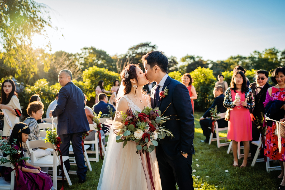 Burgundy Vintage Wedding at The Castle at Skylands Manor, Ringwood NJ