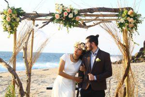 Groom Couple Beach Wedding Love Bride Romance